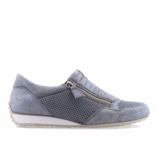 Gabor dames sneakers grijs 86.352.20 (Grijs)