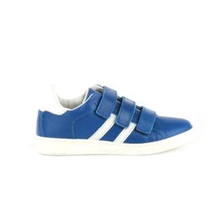 Lage klittenband sneaker kobalt (Blauw)