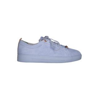 Lichtblauwe suede Kelleis sneaker Ted Baker (Blauw)