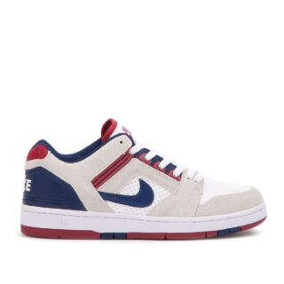 Nike SB - Air Force II Low (wit/rood)