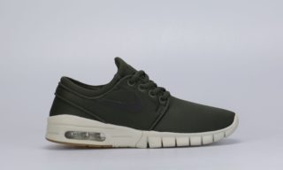 SB Stefan Janoski Max (GS) (Green) (SEQUOIA/BLACK-GUM MED BROWN)