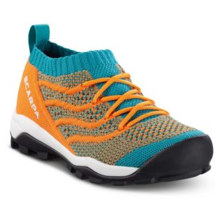 Scarpa Kid´s Gecko Air Turkoois/Oranje