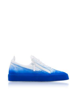 Giuseppe Zanotti Giuseppe Zanotti Designer Shoes, New Unfinished Leather Low Top Men's Sneakers (Overige kleuren)