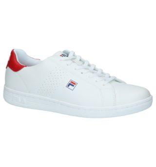 Crosscourt 2 Low Witte Sneakers (wit)