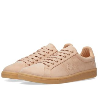 Fred Perry B721 Microfibre Sneaker (Pink)