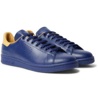 Raf Simons + Adidas Originals Stan Smith Leather Sneakers – Navy