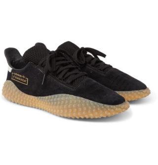 adidas Consortium Kamanda Suede Sneakers – Black
