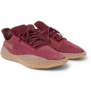 adidas Consortium Kamanda Suede Sneakers – Burgundy