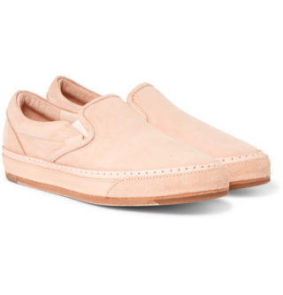 Hender Scheme Mip-17 Nubuck Slip-on Sneakers – Tan