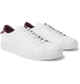 Givenchy Urban Street Leather Sneakers – White