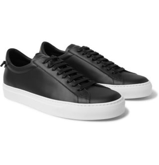 Givenchy Urban Street Leather Sneakers – Black