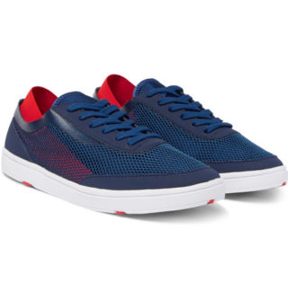 Orlebar Brown Larson Panelled Mesh Sneakers – Navy
