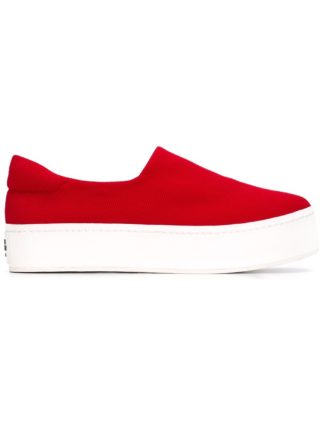 Opening Ceremony platform sneakers (rood)