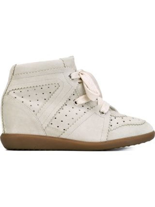 Isabel Marant Étoile Bobby sneakers - Nude & Neutrals