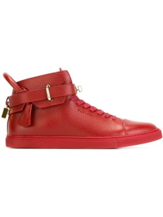 Buscemi '100MM' hi-top sneakers (rood)