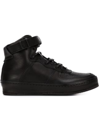Hender Scheme buckled strap hi-top sneakers (zwart)