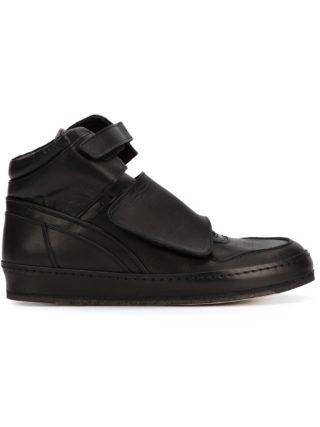 Hender Scheme hook & loop strap hi-top sneakers (zwart)
