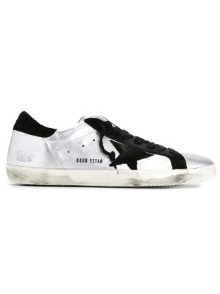 Golden Goose Deluxe Brand 'Super Star' sneakers - Metallic