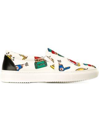 Au Jour Le Jour slip-on sneakers (wit)