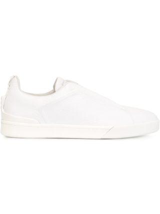 Ermenegildo Zegna lace-up sneakers (wit)