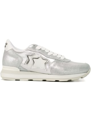 Atlantic Stars 'Vega' metallic sneakers - Grey