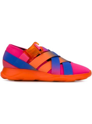 Christopher Kane cross strap sneakers (roze/paars)
