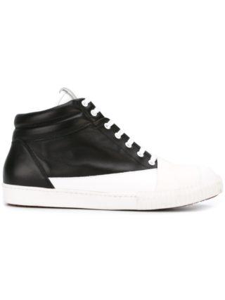 Marni monochrome hi-top sneakers (zwart)
