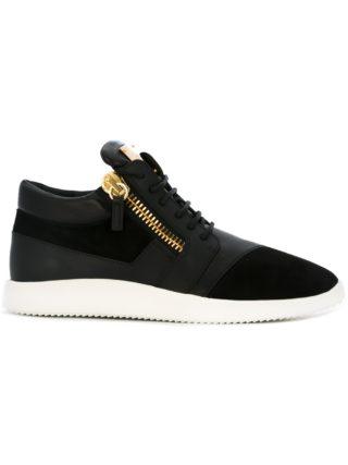 Giuseppe Zanotti Design 'Runner' mid-top sneakers - Black