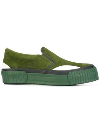 Julien David chunky sole slip-on sneakers (groen)
