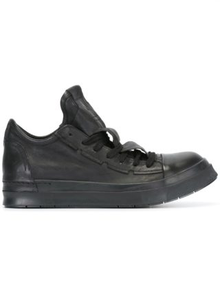 Cinzia Araia elongated detailed tongue sneakers (zwart)