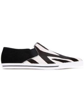 Marc Jacobs 'Delancey' slip-on sneakers (zwart)