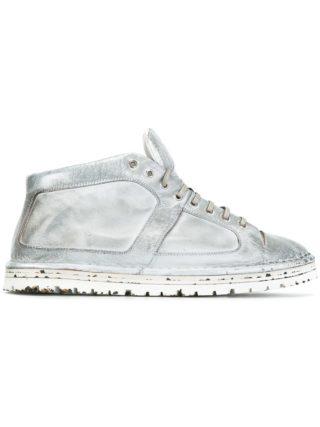 Marsèll distressed hi-top sneakers (grijs)