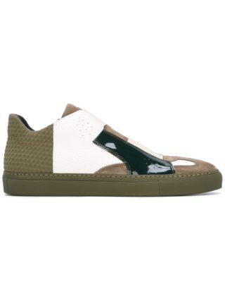 Mm6 Maison Margiela panelled sneakers (groen)