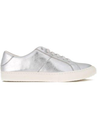 Marc Jacobs 'Empire' low top sneakers (zilver)