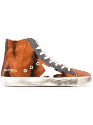 Golden Goose Deluxe Brand Francy hi-top sneakers - Brown