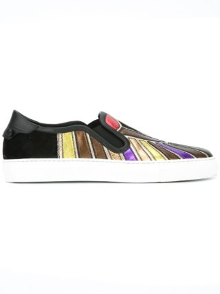 Givenchy Egyptian print low top sneakers (zwart)