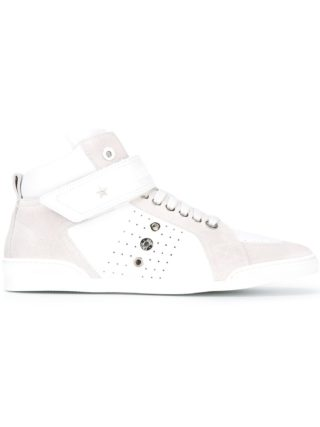 Jimmy Choo Lewis hi-top sneakers (wit)