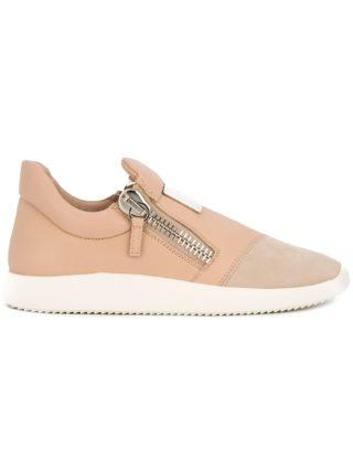Giuseppe Zanotti Design Runner slip-on sneakers - Pink & Purple