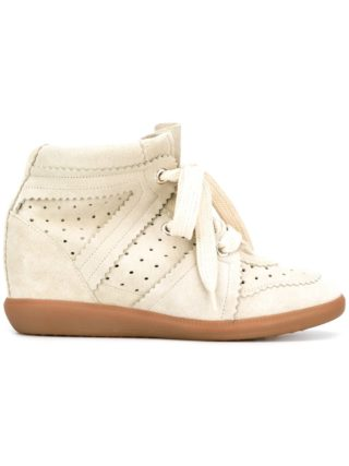Isabel Marant Bobby wedge sneakers - Grey