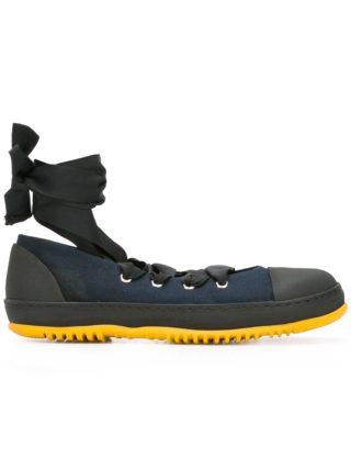 Marni lace up ballerina sneakers (blauw)