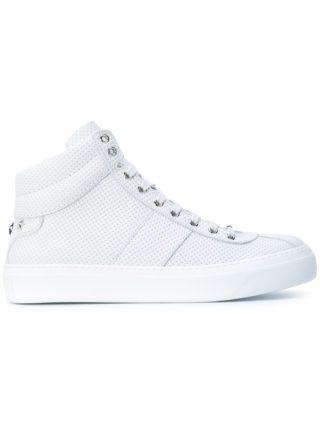 Jimmy Choo 'Belgravia' hi-top sneakers (wit)