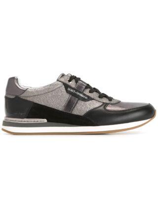 Dolce & Gabbana panelled sneakers (zwart)