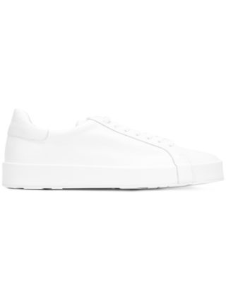 Jil Sander lace-up sneakers (wit)