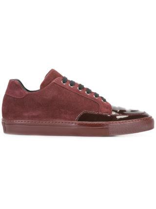 Alejandro Ingelmo panelled sneakers (rood)