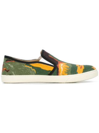 Stella McCartney Bosco slip-on sneakers (multicolor)