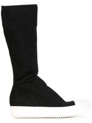 Rick Owens DRKSHDW sock sneakers (zwart)