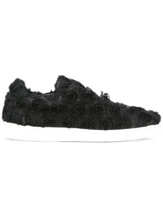 Joshua Sanders Roses sneakers (zwart)