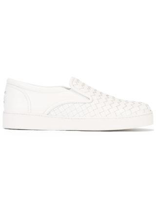 Bottega Veneta Dodger sneakers (wit)
