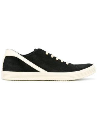 Rick Owens lace-up sneakers (zwart)