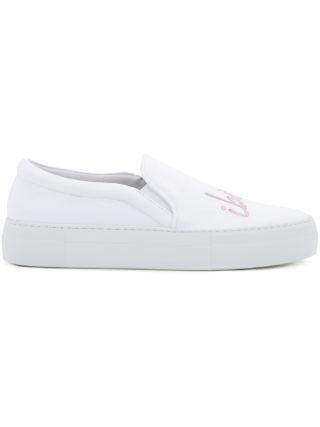 Joshua Sanders Ibiza slip-on sneakers (wit)